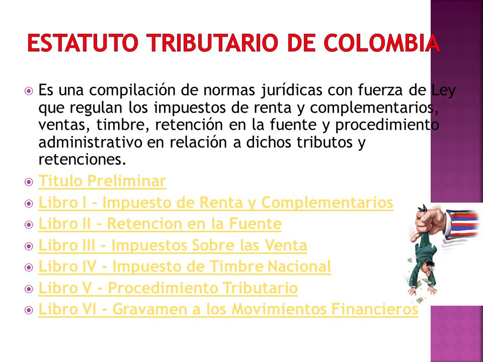 Estatuto Tributario de Colombia