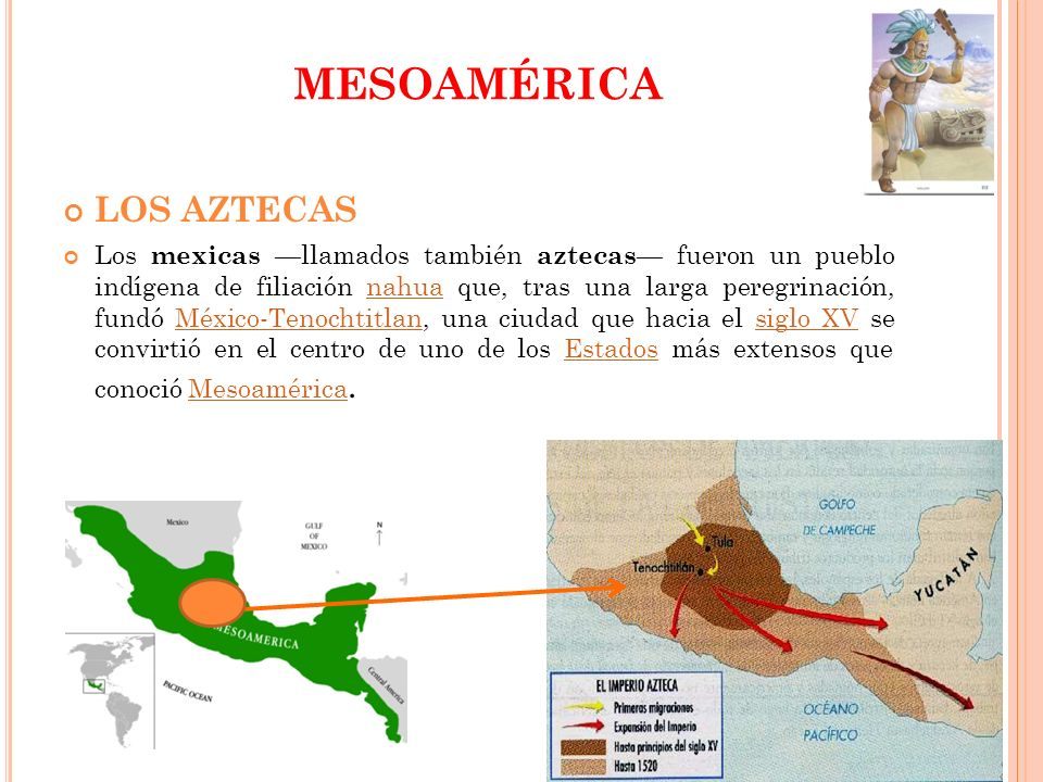 MESOAMÉRICA LOS AZTECAS
