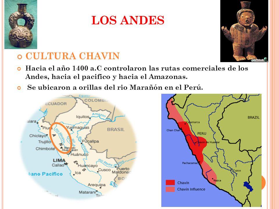 LOS ANDES CULTURA CHAVIN