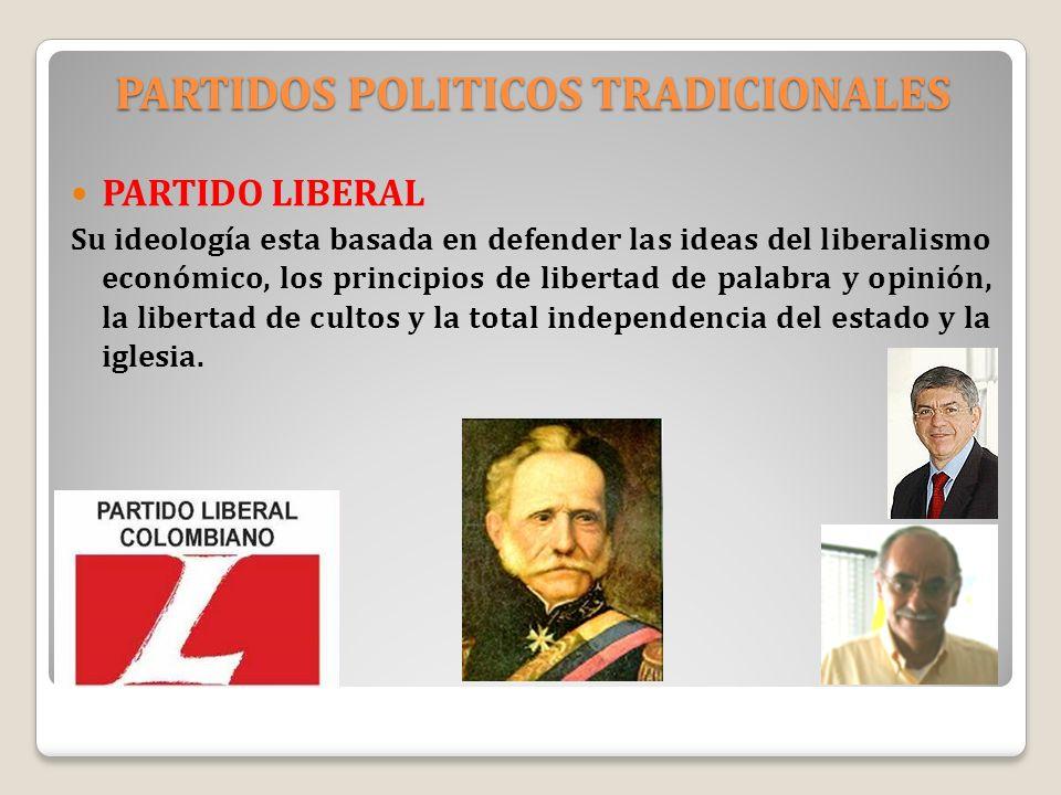 PARTIDOS POLITICOS TRADICIONALES