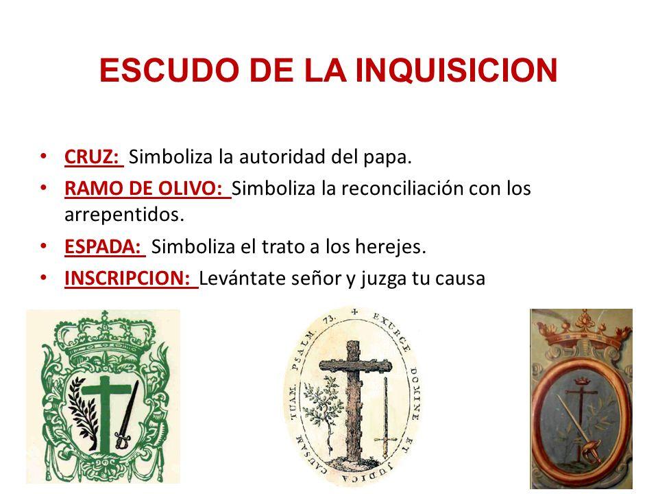ESCUDO DE LA INQUISICION