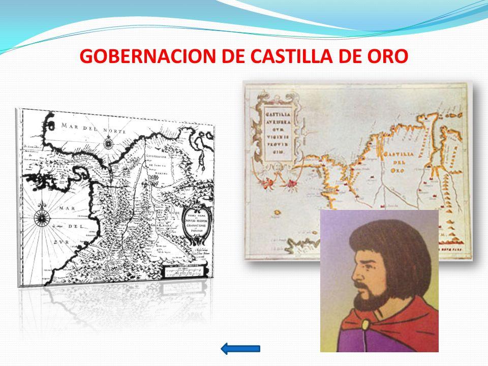 GOBERNACION DE CASTILLA DE ORO
