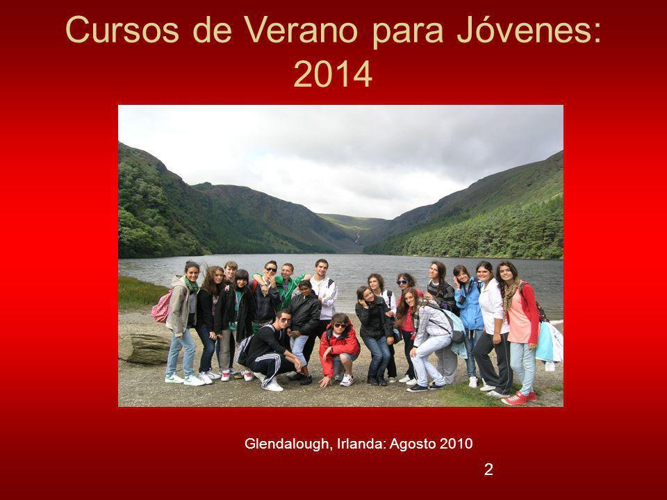 Cursos de Verano para Jóvenes: 2014
