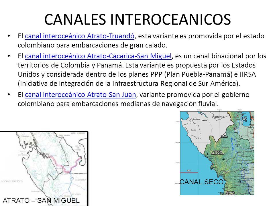 CANALES INTEROCEANICOS