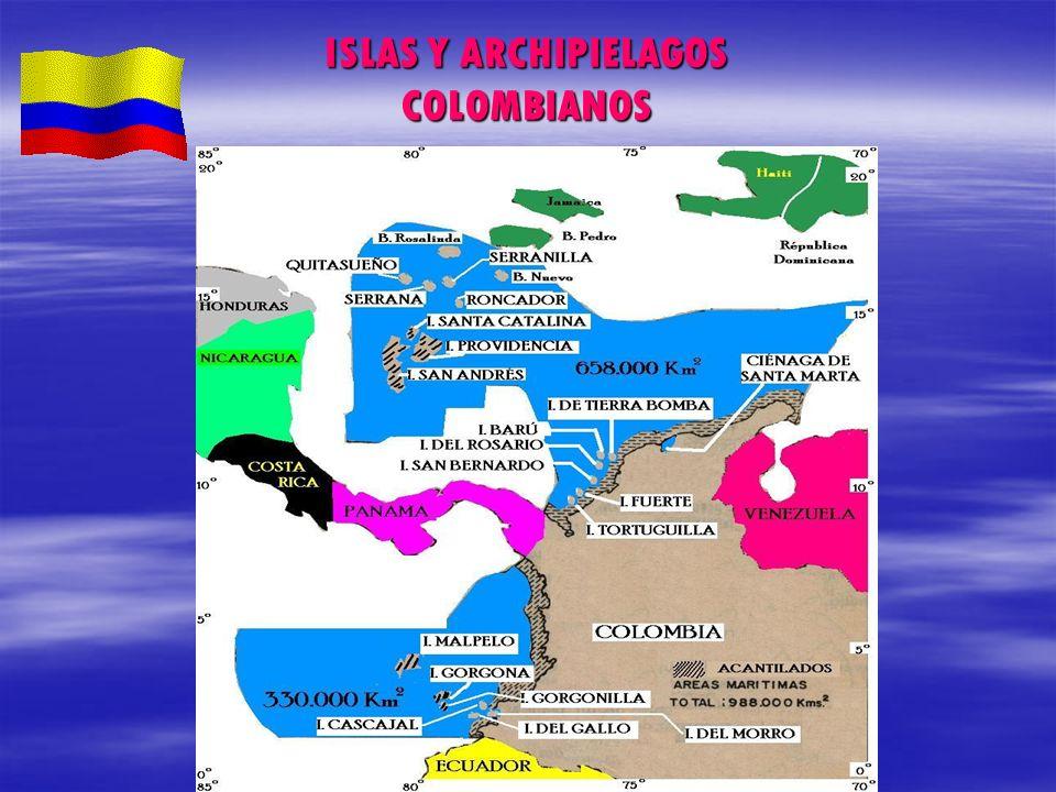ISLAS Y ARCHIPIELAGOS COLOMBIANOS