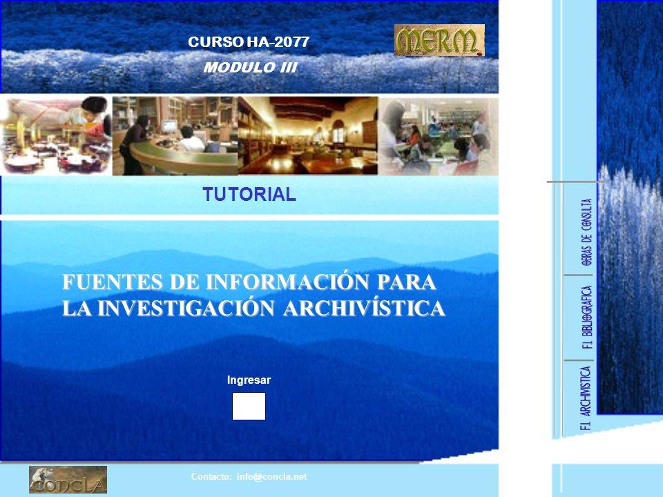 Contacto: info@concla.net