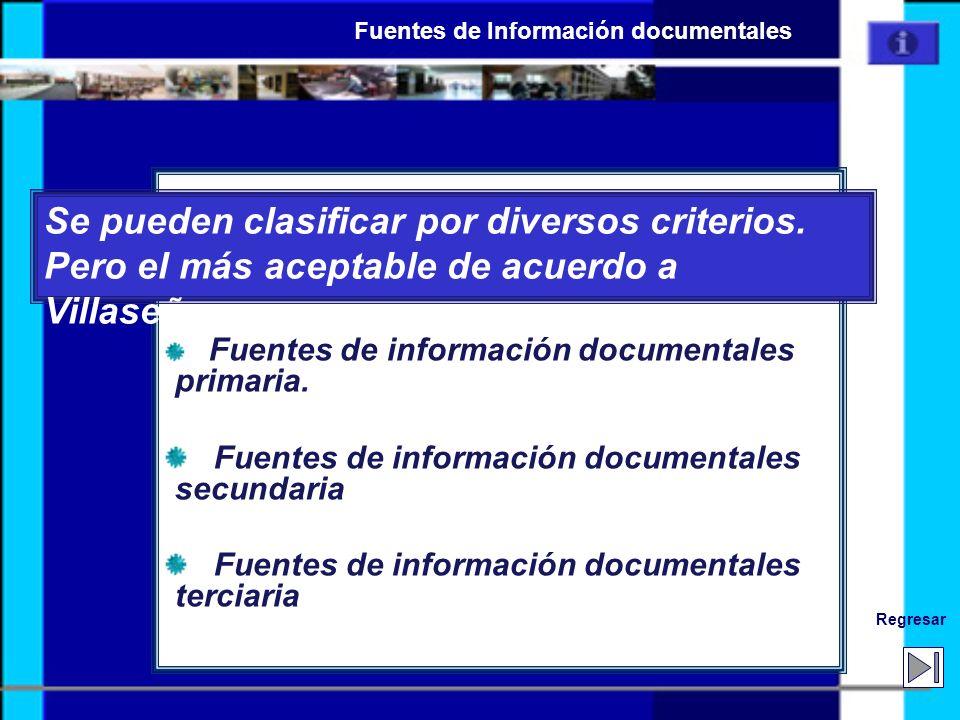 Fuentes de Información documentales