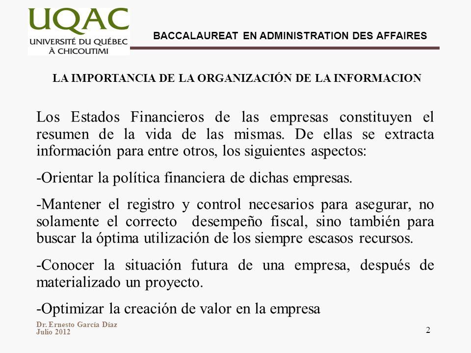 -Orientar la política financiera de dichas empresas.