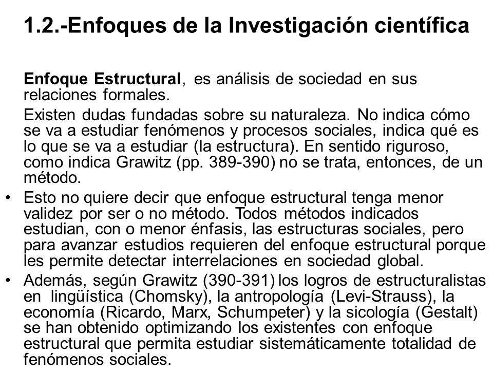 1.2.-Enfoques de la Investigación científica