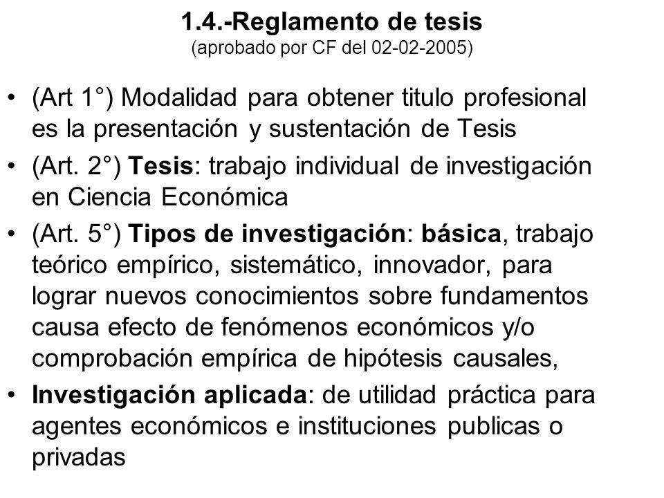 1.4.-Reglamento de tesis (aprobado por CF del 02-02-2005)