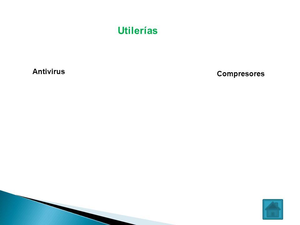 Utilerías Antivirus Compresores