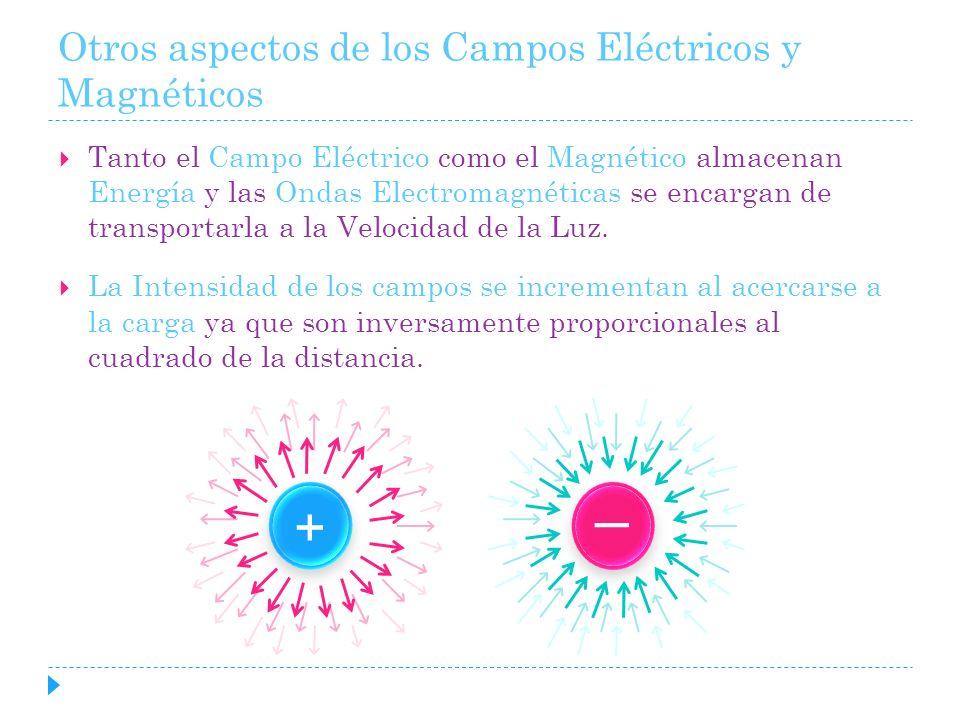 Otros aspectos de los Campos Eléctricos y Magnéticos
