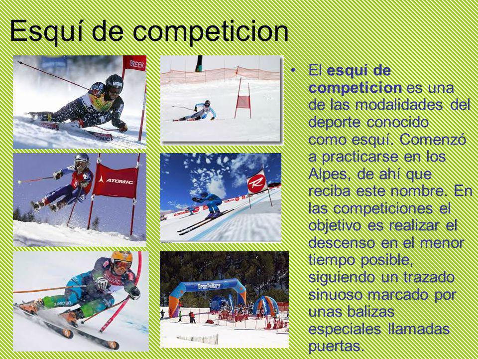 Esquí de competicion