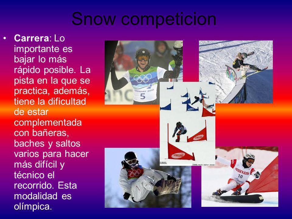Snow competicion