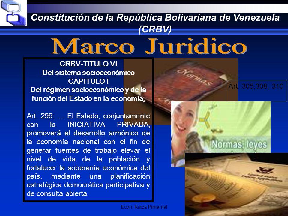 Constitución de la República Bolivariana de Venezuela (CRBV)