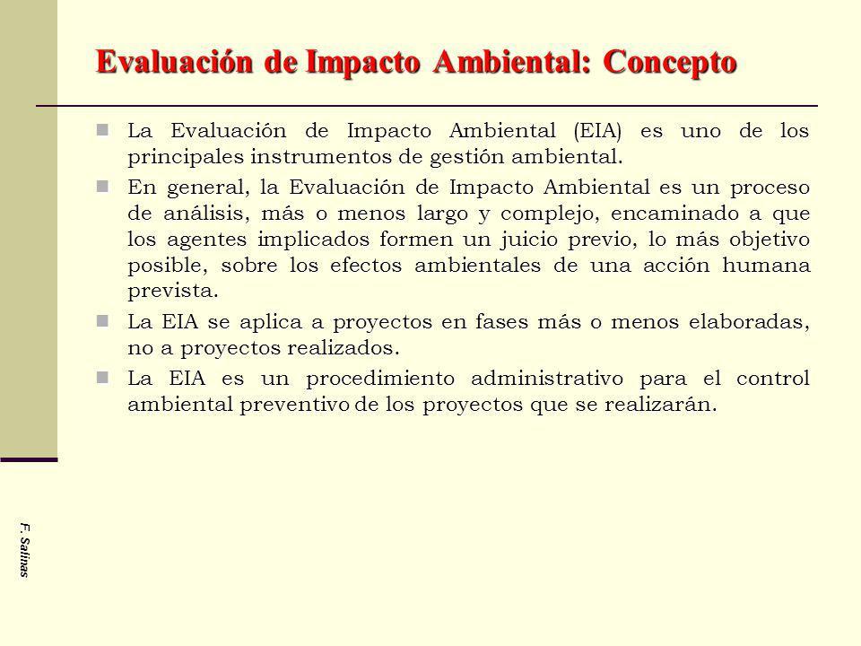 Evaluación de Impacto Ambiental: Concepto