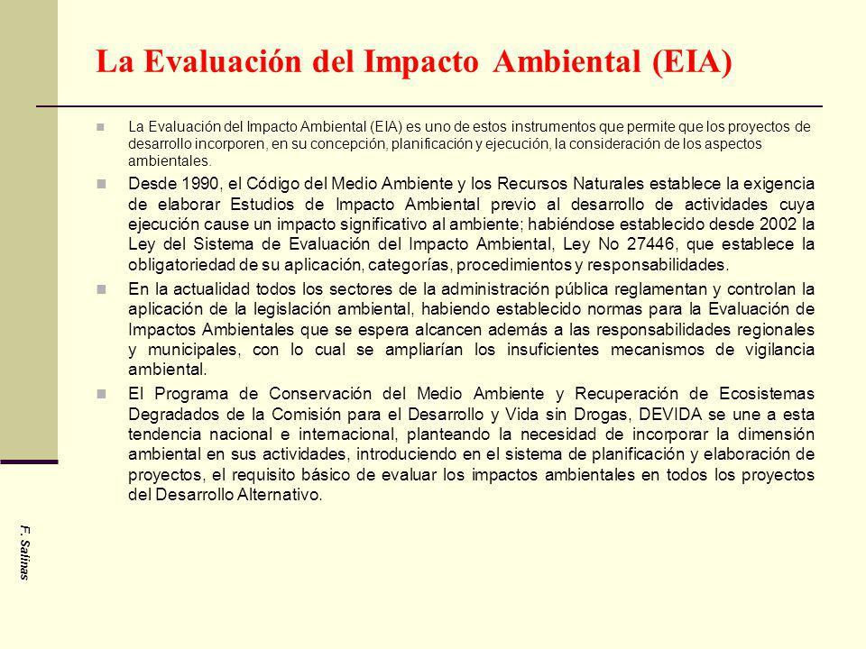 La Evaluación del Impacto Ambiental (EIA)