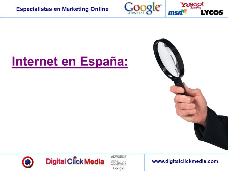 Internet en España:
