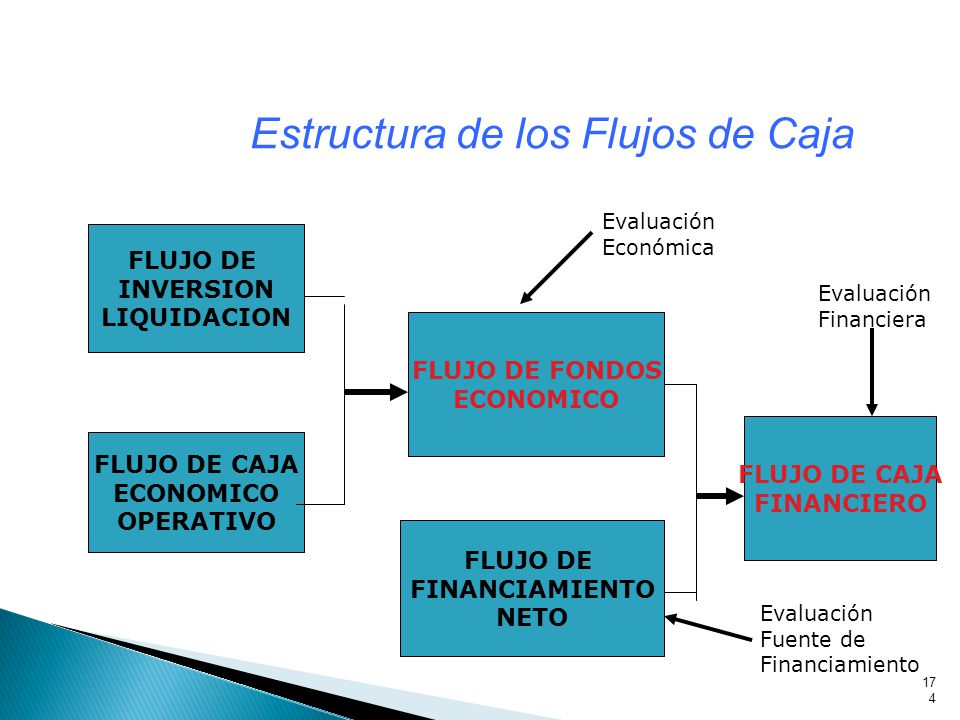Estructura de los Flujos de Caja