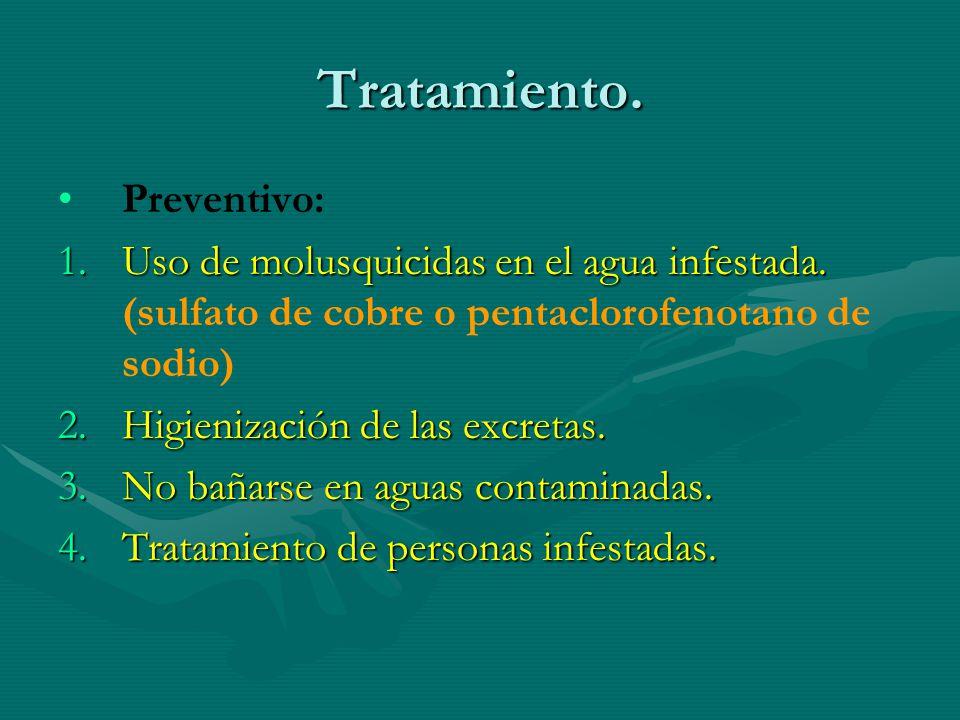 Tratamiento. Preventivo: