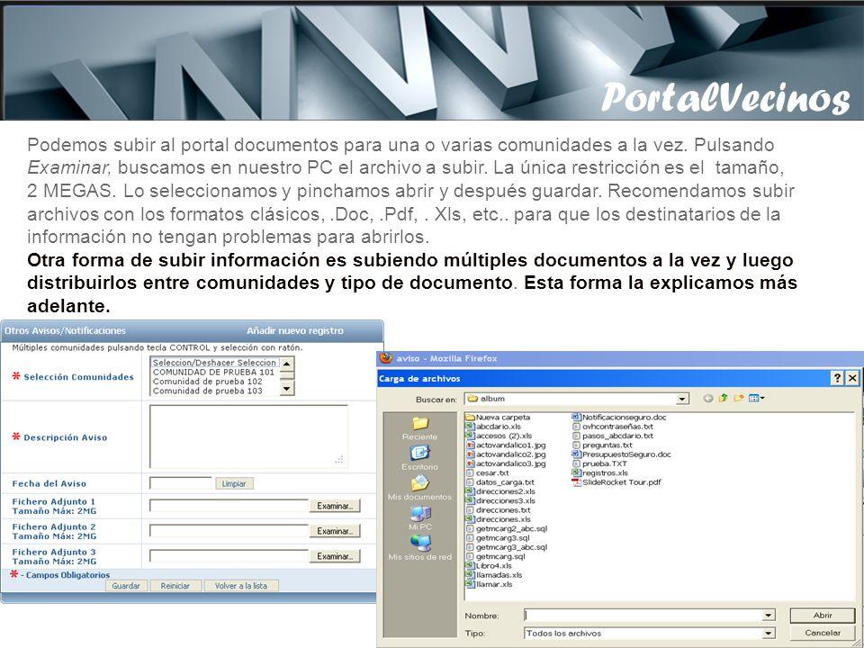 PortalVecinos PortalVecinos