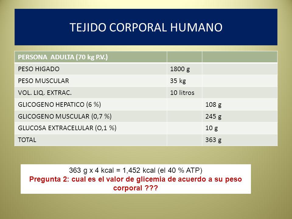 TEJIDO CORPORAL HUMANO