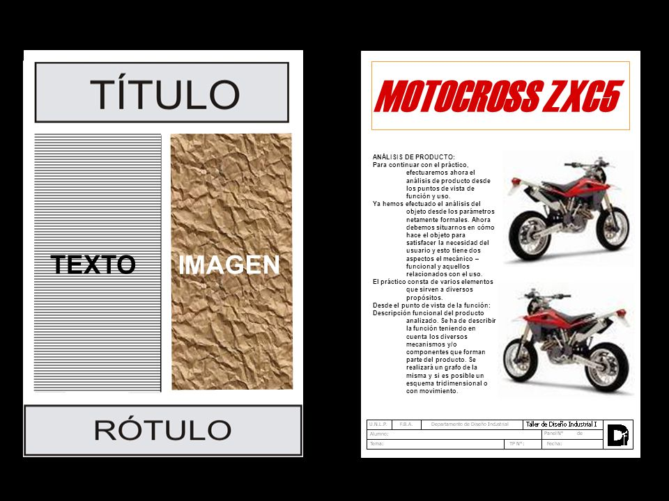 MOTOCROSS ZXC5 TEXTO IMAGEN ANÁLISIS DE PRODUCTO: