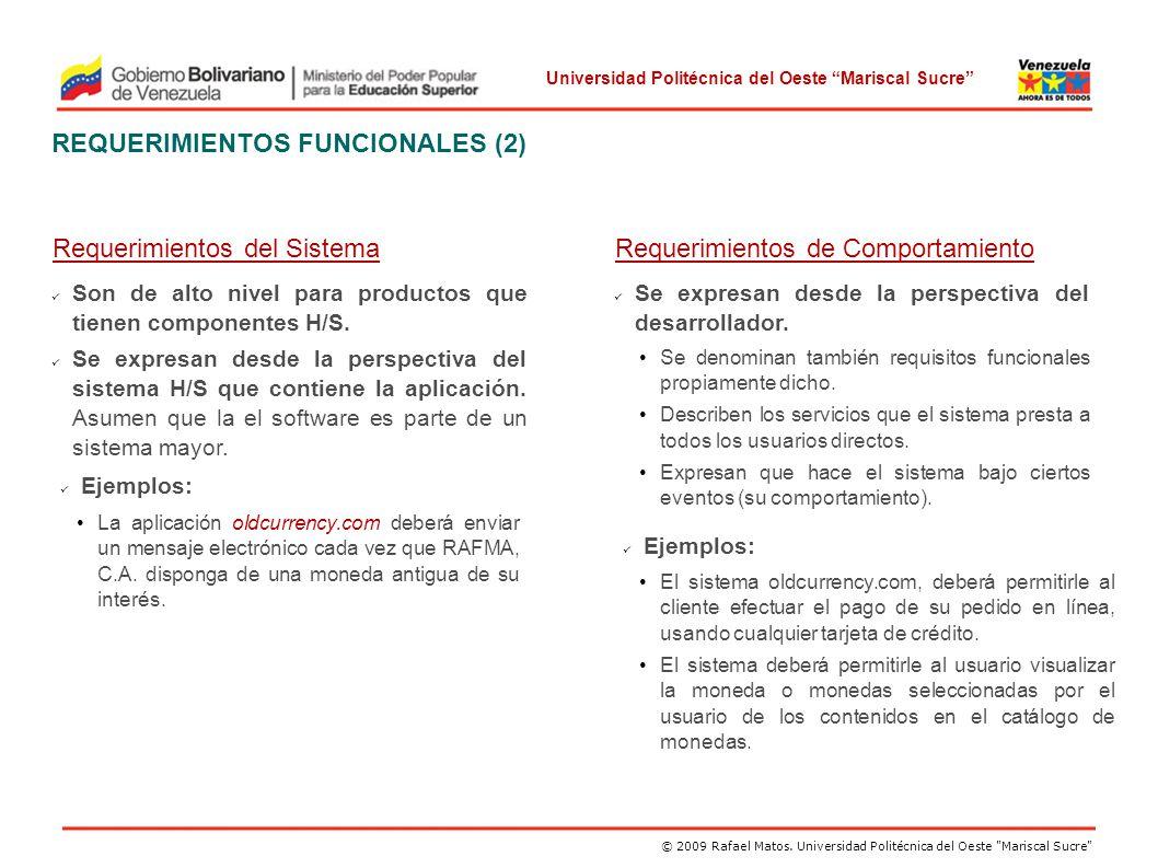 REQUERIMIENTOS FUNCIONALES (2)