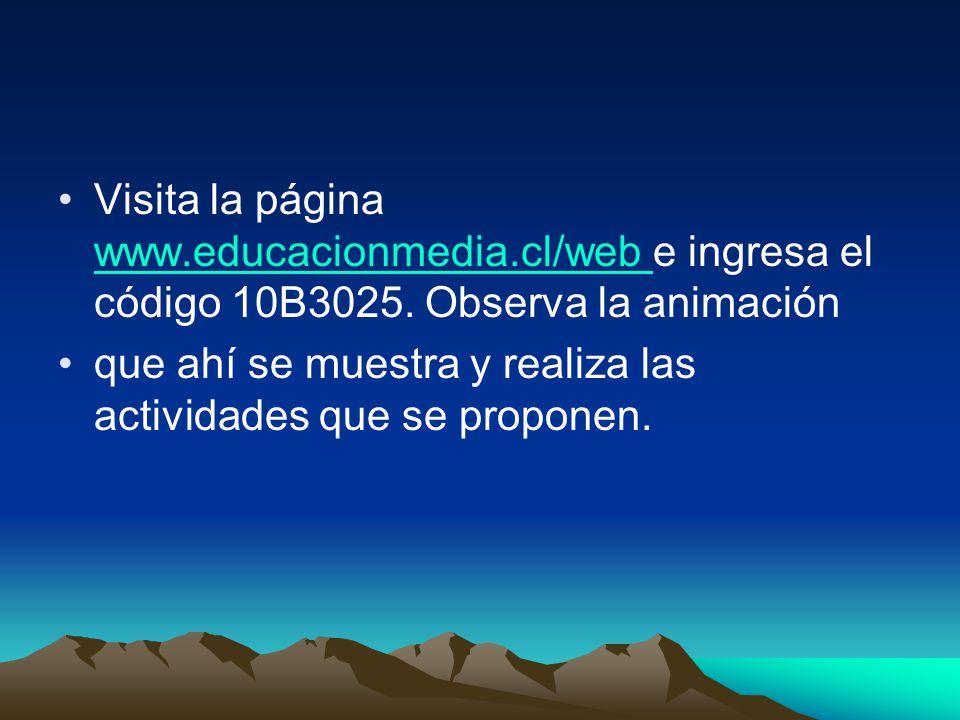 Visita la página www. educacionmedia