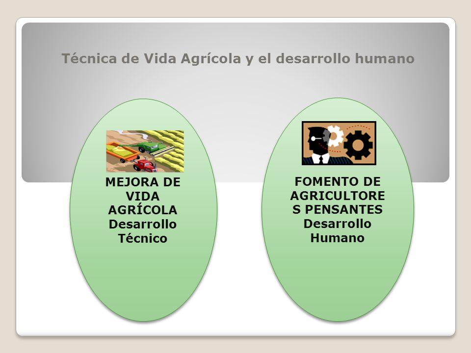Técnica de Vida Agrícola y el desarrollo humano