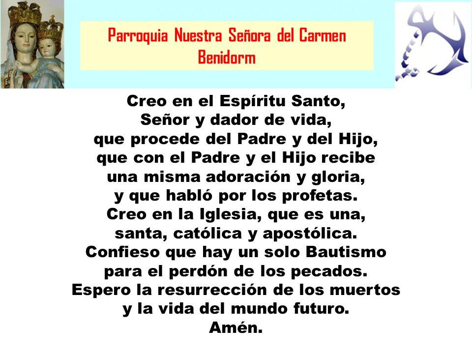 Parroquia Nuestra Señora del Carmen Benidorm