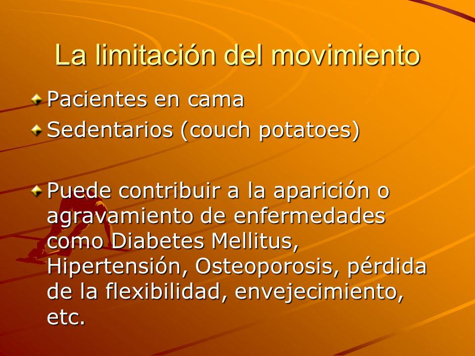 La limitación del movimiento