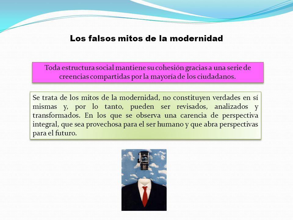 Los falsos mitos de la modernidad
