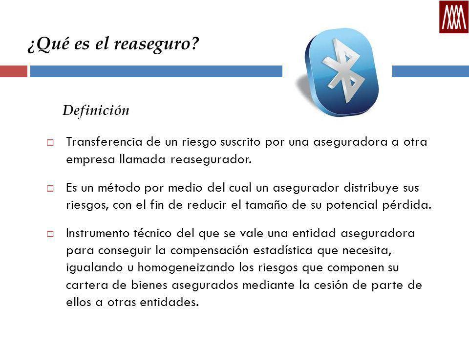 Definición ¿Qué es el reaseguro