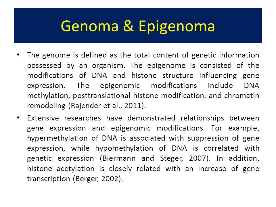 Genoma & Epigenoma