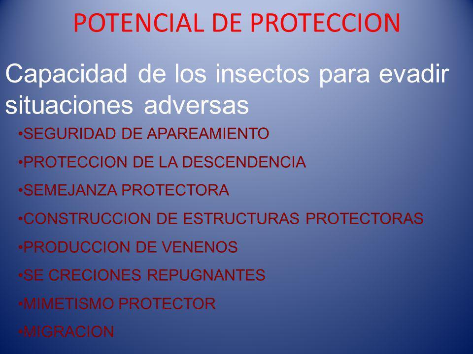 POTENCIAL DE PROTECCION