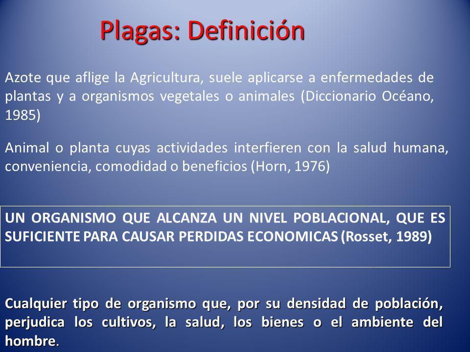Plagas: Definición