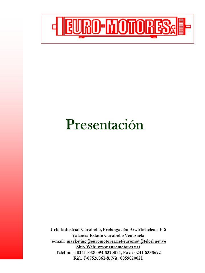 Presentación Urb. Industrial Carabobo, Prolongación Av.. Michelena E-8