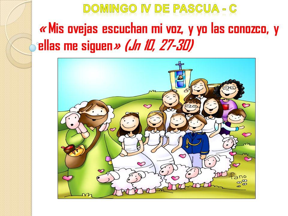 Domingo iV DE pascua - c « Mis ovejas escuchan mi voz, y yo las conozco, y ellas me siguen» (Jn 10, 27-30)