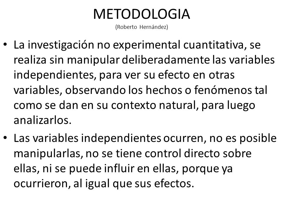 METODOLOGIA (Roberto Hernández)