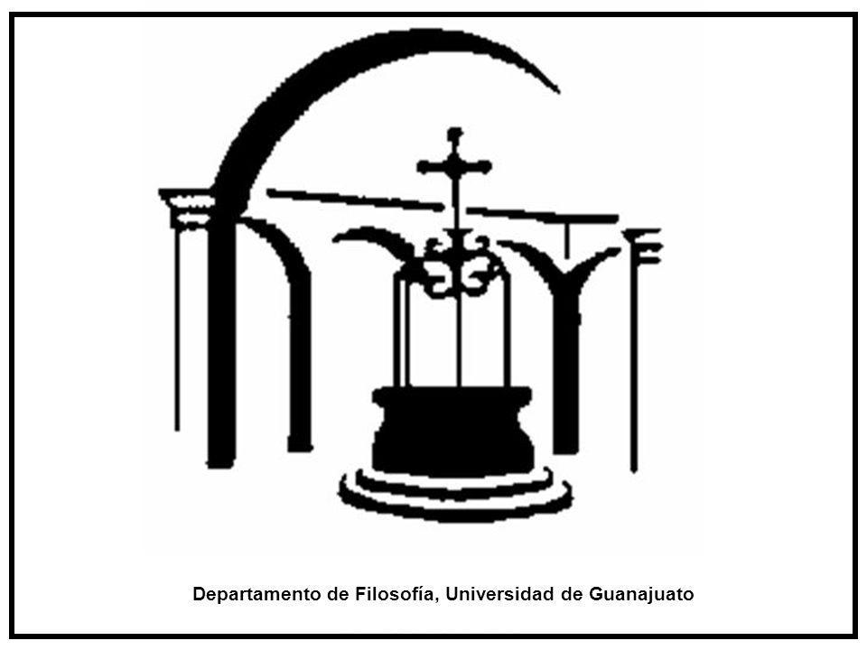 Departamento de Filosofía, Universidad de Guanajuato