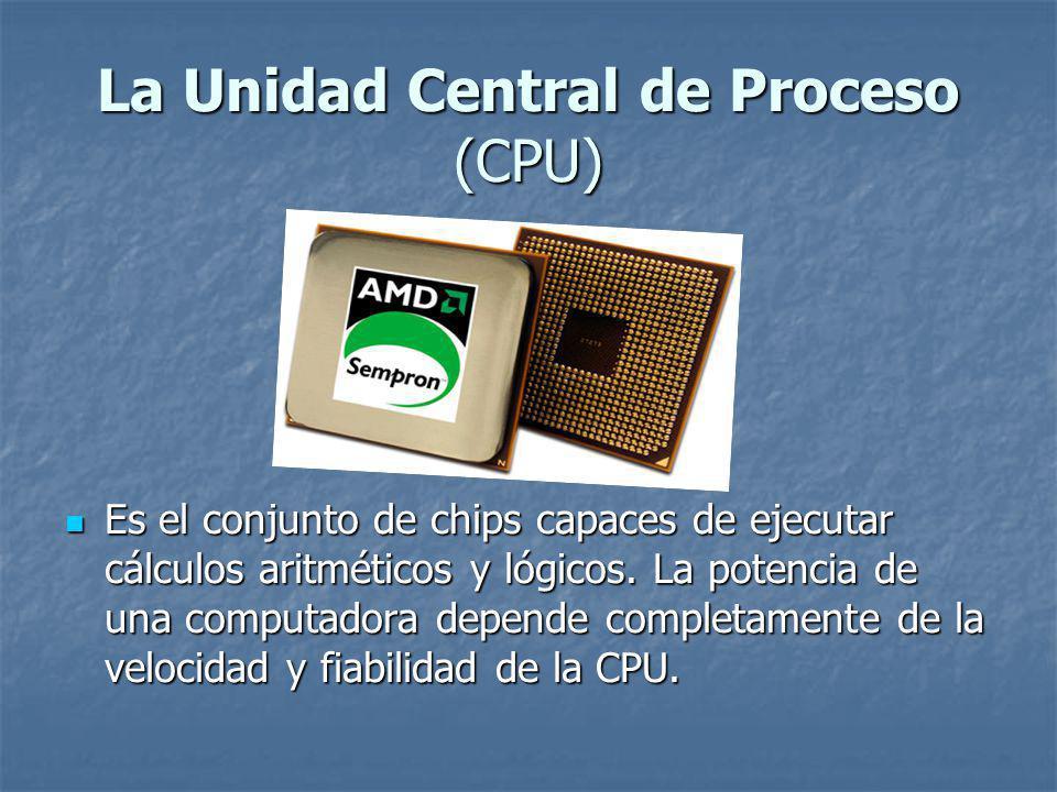 La Unidad Central de Proceso (CPU)