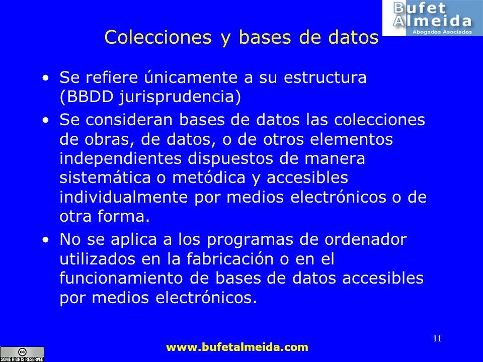 Colecciones y bases de datos