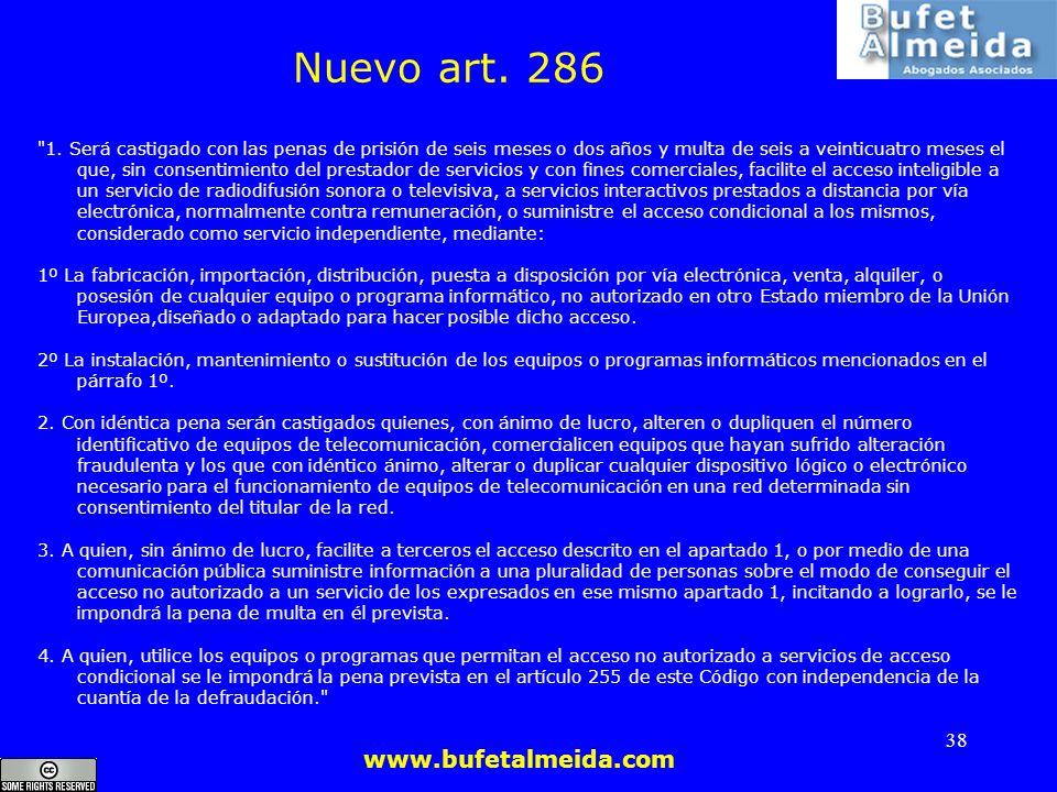 Nuevo art. 286