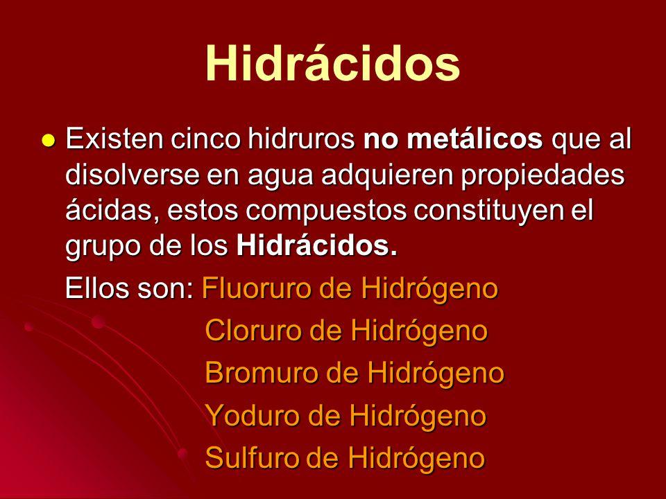 Hidrácidos