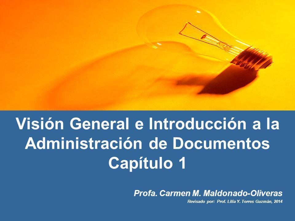 Visión General e Introducción a la Administración de Documentos Capítulo 1