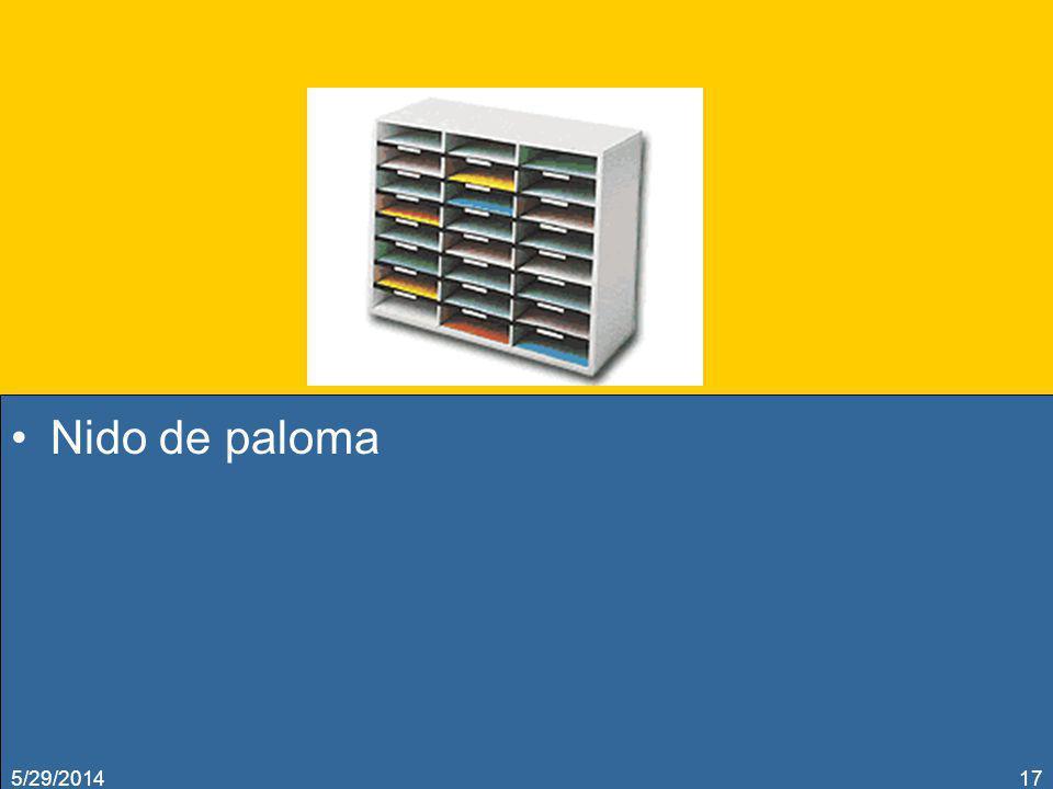 Nido de paloma 3/31/2017