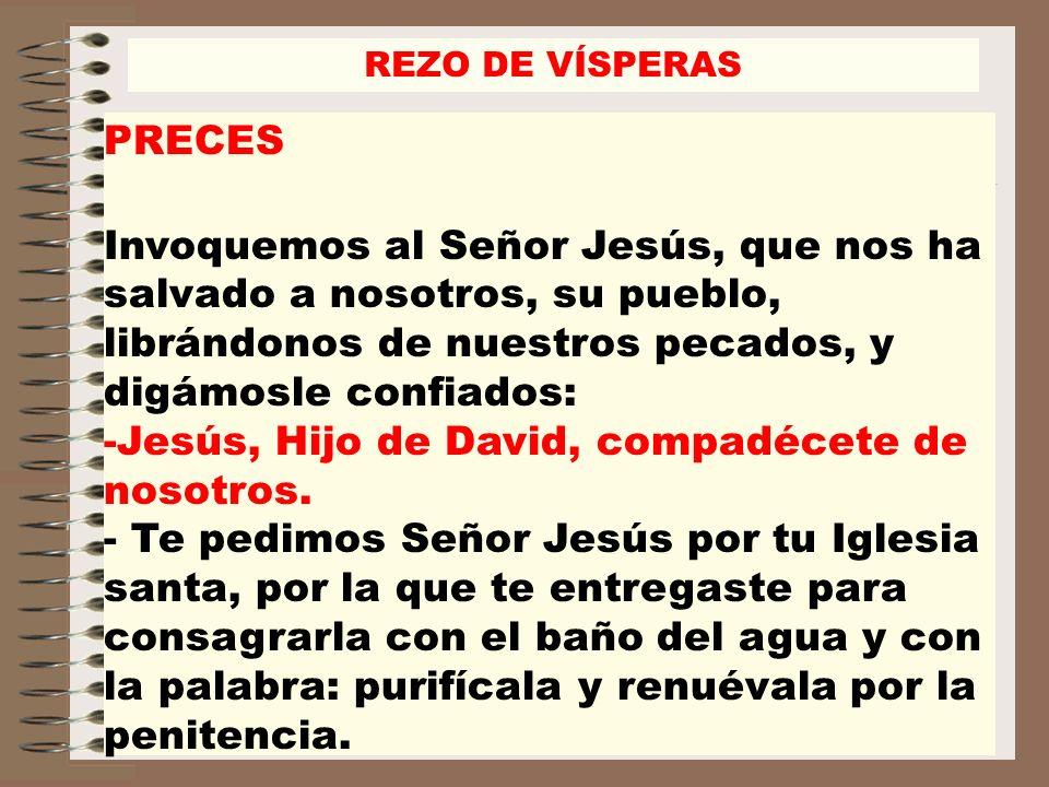 -Jesús, Hijo de David, compadécete de nosotros.