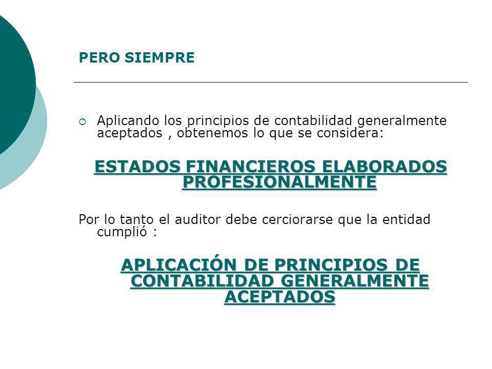 ESTADOS FINANCIEROS ELABORADOS PROFESIONALMENTE