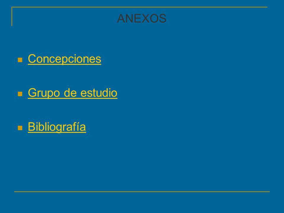 ANEXOS Concepciones Grupo de estudio Bibliografía